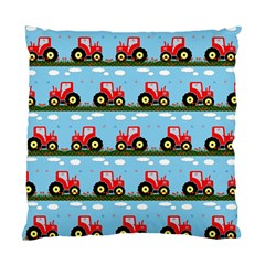 Toy Tractor Pattern Standard Cushion Case (two Sides)