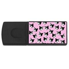 Cat pattern USB Flash Drive Rectangular (4 GB)