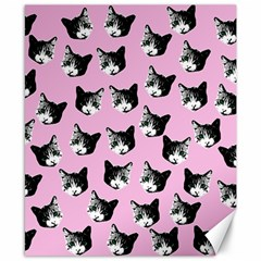 Cat pattern Canvas 8  x 10