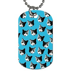 Cat pattern Dog Tag (Two Sides)