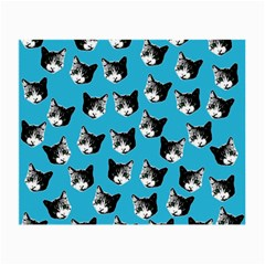 Cat pattern Small Glasses Cloth (2-Side)