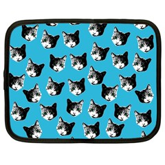 Cat pattern Netbook Case (Large)
