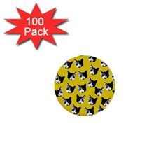 Cat pattern 1  Mini Buttons (100 pack)