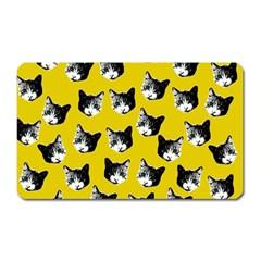 Cat pattern Magnet (Rectangular)