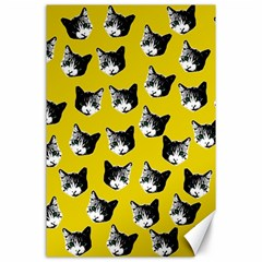 Cat pattern Canvas 24  x 36