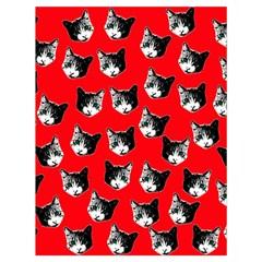 Cat pattern Drawstring Bag (Large)