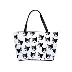 Cat pattern Shoulder Handbags