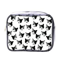 Cat pattern Mini Toiletries Bags