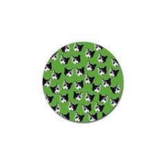 Cat pattern Golf Ball Marker (10 pack)