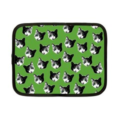 Cat pattern Netbook Case (Small)
