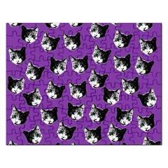 Cat pattern Rectangular Jigsaw Puzzl