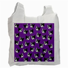 Cat pattern Recycle Bag (One Side)