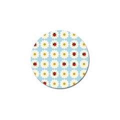 Ladybugs Pattern Golf Ball Marker (10 Pack)