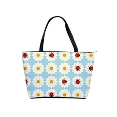 Ladybugs Pattern Shoulder Handbags