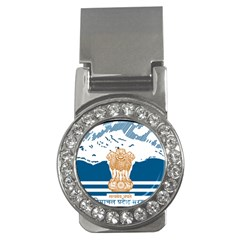 Seal Of Indian Sate Of Himachal Pradesh Money Clips (cz)