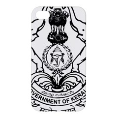 Seal Of Indian State Of Kerala  Apple Iphone 4/4s Premium Hardshell Case