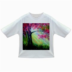 Forests Stunning Glimmer Paintings Sunlight Blooms Plants Love Seasons Traditional Art Flowers Infant/Toddler T-Shirts