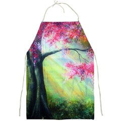 Forests Stunning Glimmer Paintings Sunlight Blooms Plants Love Seasons Traditional Art Flowers Full Print Aprons