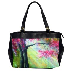 Forests Stunning Glimmer Paintings Sunlight Blooms Plants Love Seasons Traditional Art Flowers Office Handbags (2 Sides)