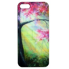 Forests Stunning Glimmer Paintings Sunlight Blooms Plants Love Seasons Traditional Art Flowers Apple iPhone 5 Hardshell Case with Stand