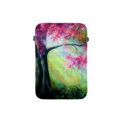 Forests Stunning Glimmer Paintings Sunlight Blooms Plants Love Seasons Traditional Art Flowers Apple iPad Mini Protective Soft Cases
