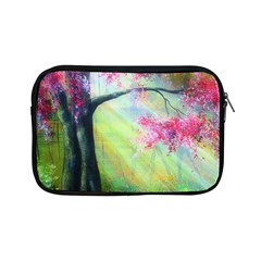 Forests Stunning Glimmer Paintings Sunlight Blooms Plants Love Seasons Traditional Art Flowers Apple iPad Mini Zipper Cases