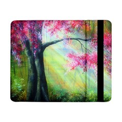 Forests Stunning Glimmer Paintings Sunlight Blooms Plants Love Seasons Traditional Art Flowers Samsung Galaxy Tab Pro 8.4  Flip Case
