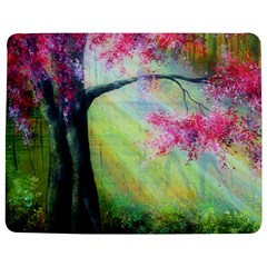 Forests Stunning Glimmer Paintings Sunlight Blooms Plants Love Seasons Traditional Art Flowers Jigsaw Puzzle Photo Stand (Rectangular)