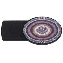 Spirit Of The Child Australian Aboriginal Art USB Flash Drive Oval (2 GB)