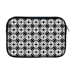 Geometric Modern Baroque Pattern Apple Macbook Pro 17  Zipper Case