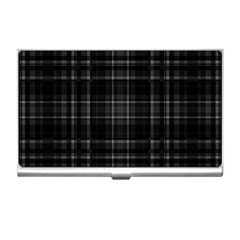Plaid design Business Card Holders