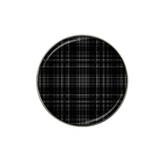 Plaid design Hat Clip Ball Marker (10 pack)