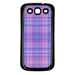 Plaid Design Samsung Galaxy S3 Back Case (black)
