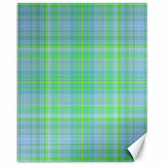 Plaid design Canvas 16  x 20