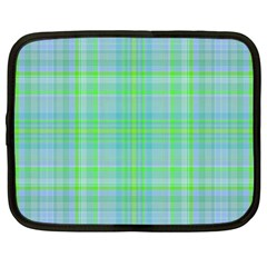 Plaid design Netbook Case (Large)