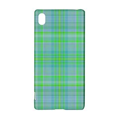 Plaid design Sony Xperia Z3+