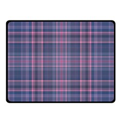 Plaid design Fleece Blanket (Small)