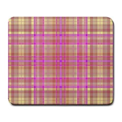 Plaid design Large Mousepads