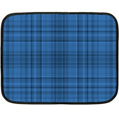 Plaid design Double Sided Fleece Blanket (Mini)