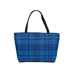Plaid Design Shoulder Handbags