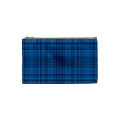 Plaid design Cosmetic Bag (Small)