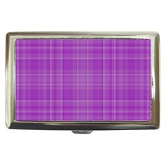 Plaid design Cigarette Money Cases