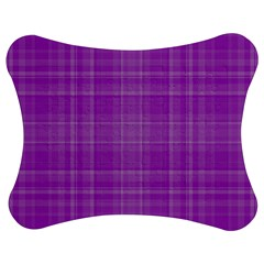 Plaid design Jigsaw Puzzle Photo Stand (Bow)