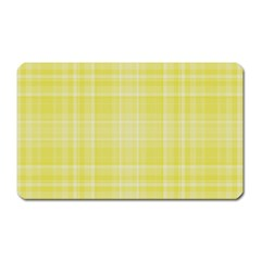 Plaid design Magnet (Rectangular)