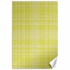 Plaid design Canvas 24  x 36