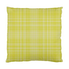 Plaid design Standard Cushion Case (One Side)