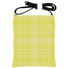 Plaid design Shoulder Sling Bags