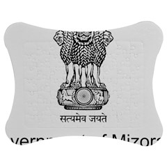 Seal Of Indian State Of Mizoram Jigsaw Puzzle Photo Stand (bow)