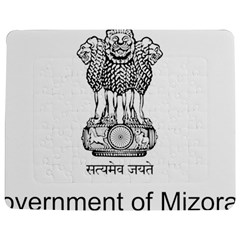 Seal Of Indian State Of Mizoram Jigsaw Puzzle Photo Stand (rectangular)