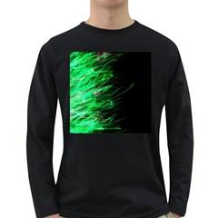 Fire Long Sleeve Dark T-Shirts